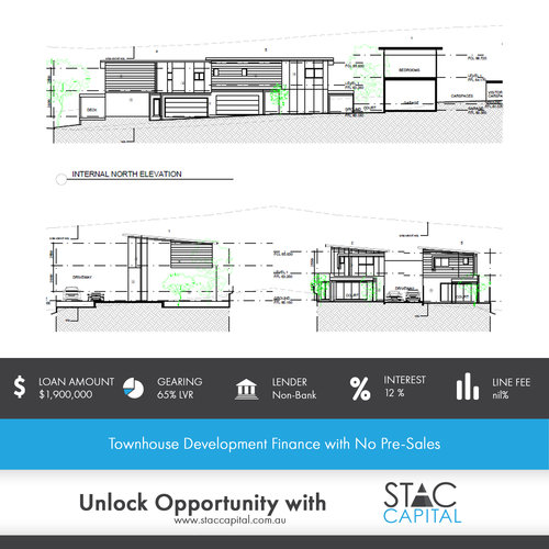 Townhouse Development Finance with No Pre-Sales