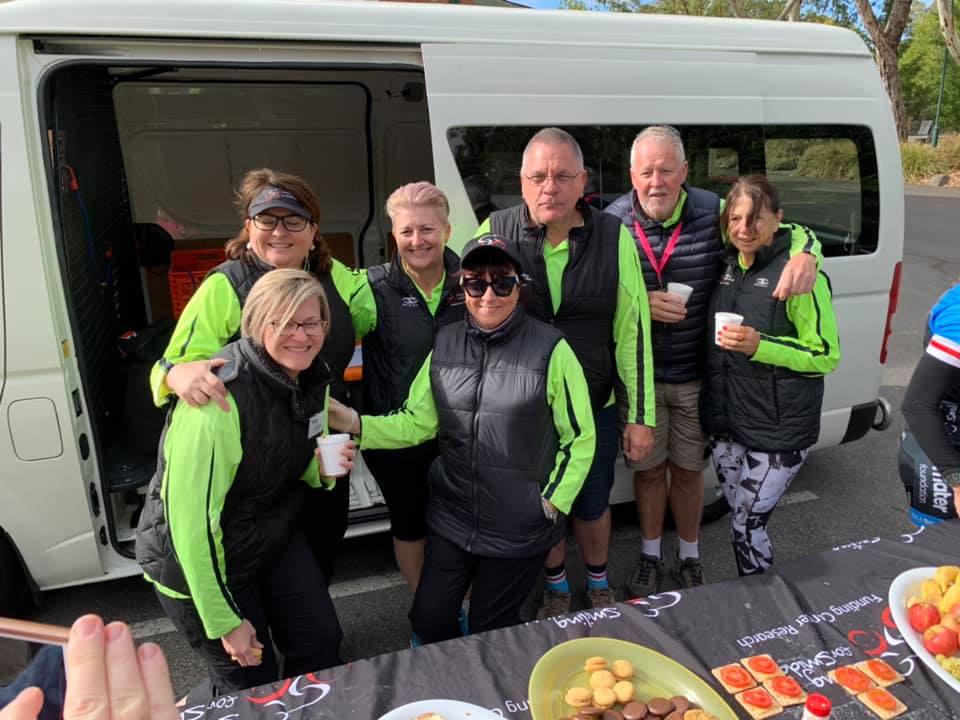Smiddy Charity Ride - Road crew